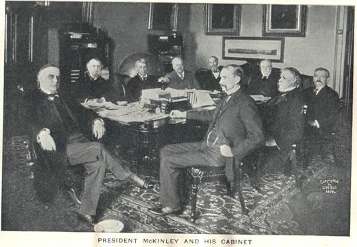 William McKinley Cabinet